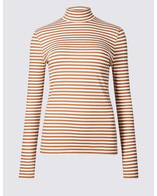marks-spencer-Light-Tan-Mix-Cotton-Rich-Striped-Long-Sleeve-T-shirt.jpeg