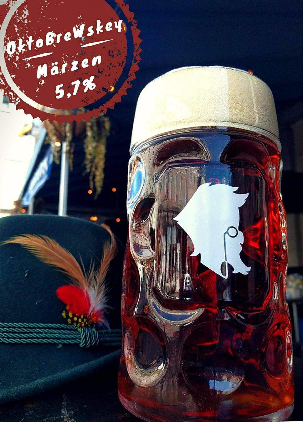 Notre bière pour l'Oktoberfest - une belle Märzen sèche, goûtue sur la noisette