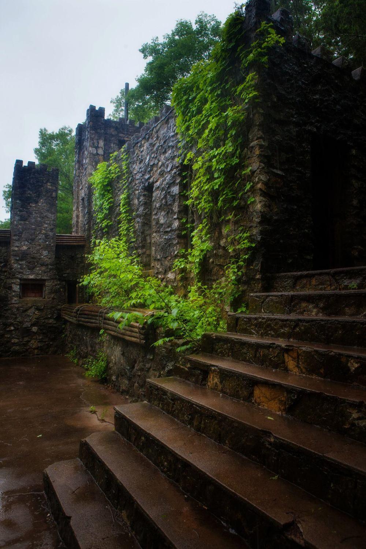 The Castle At Turner Falls Park.