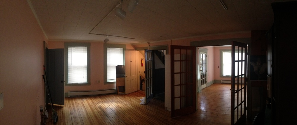 Pre-Demo Space after former tenant vacated.