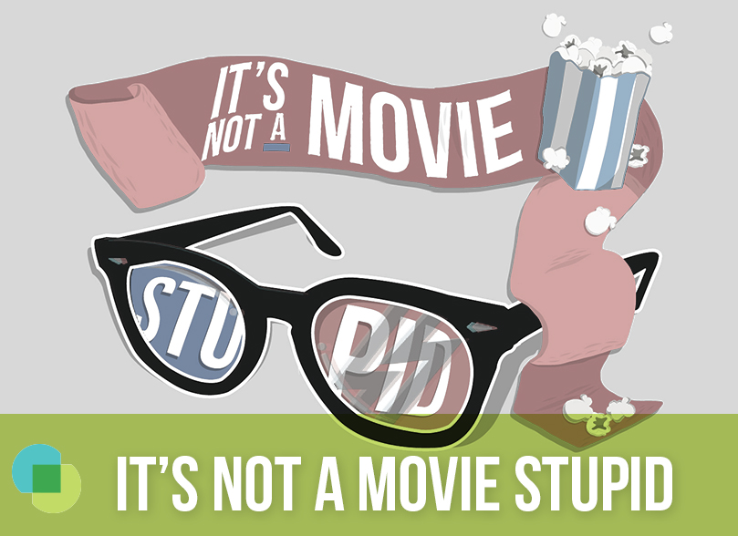 its not a movie stupid link