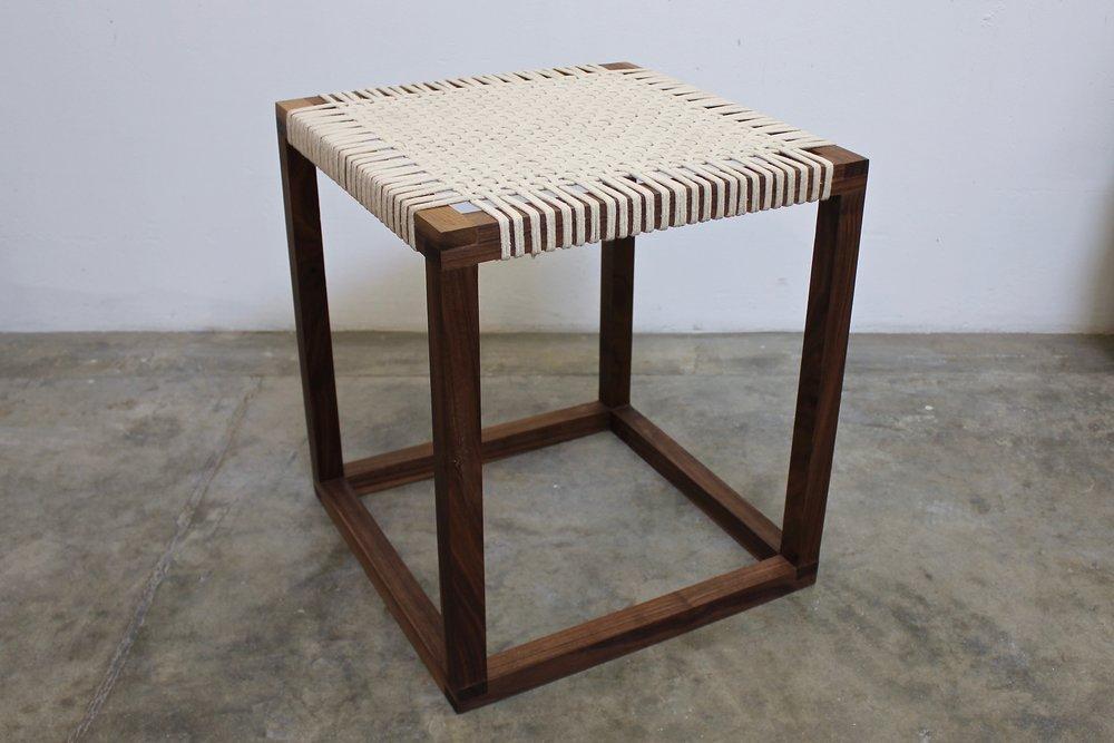 Grid Weave Stool