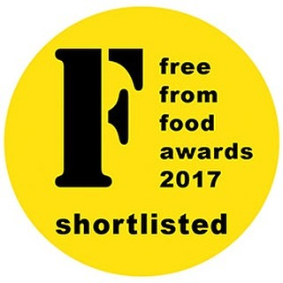 Whoop!!! Shortlisted in 2 categories for 2017 @freefromfoodawards 👍😊👏 best store cupboard ingredient sponsored by @geniusglutenfree and best product from start up sponsored by @tescofood - thanks so much judges!! #fffa2017 #glutenfree #energyballs #cacao #vegan #noaddedsugar #awards #shortlist #healthy #food