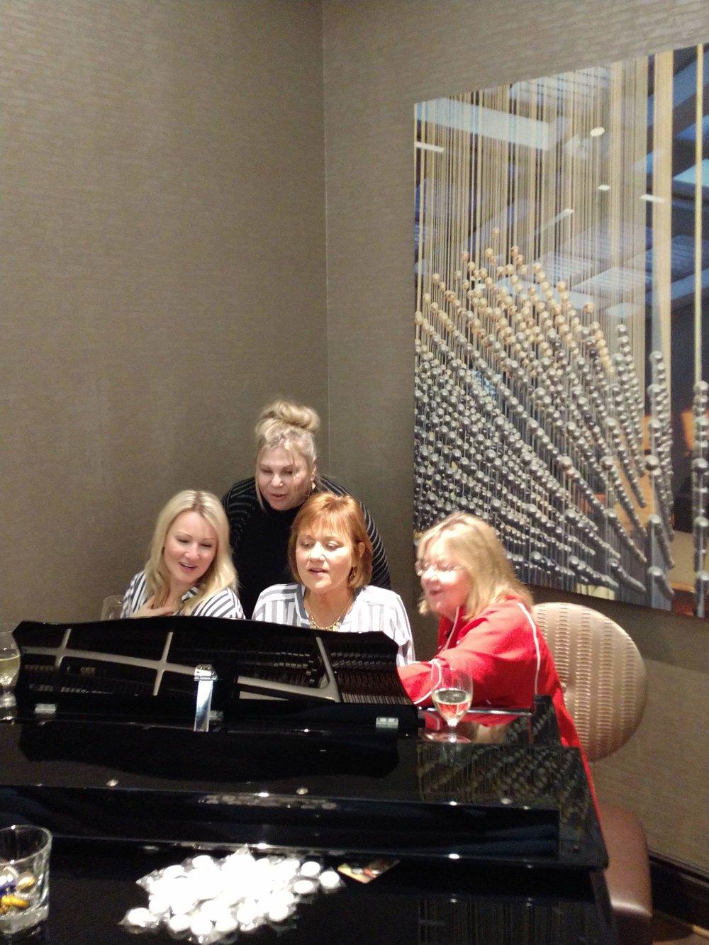 Ashley Olivier, Jackie Reed, Regina and Lenora Krielow in Lake Charles, LA
