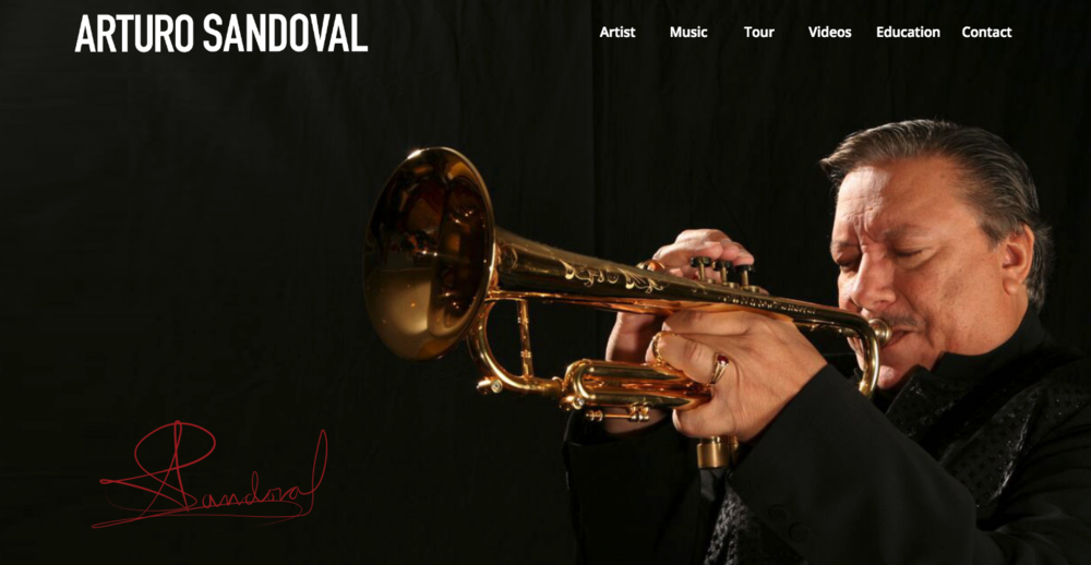 Maestro Arturo Sandoval   ArturoSandoval.com