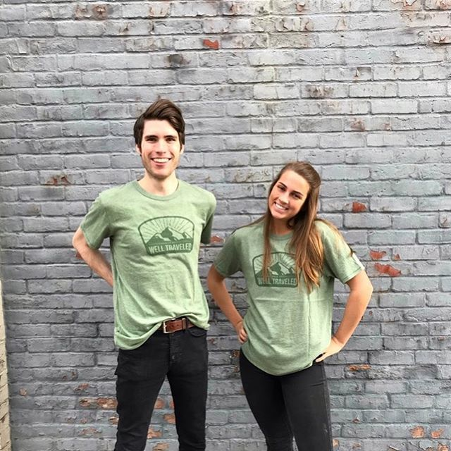 Christmas came early 🎁 Thank you @caravan_coffee for the new shirts! Stop by this holiday season to try their Christmas Blend🌲