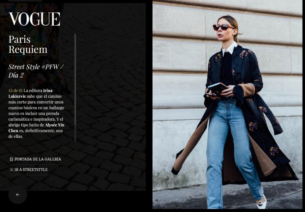 Vogue España  http://www.vogue.es/