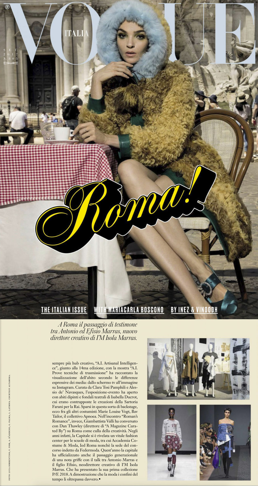 Vogue Italia September Issue   http://www.vogue.it