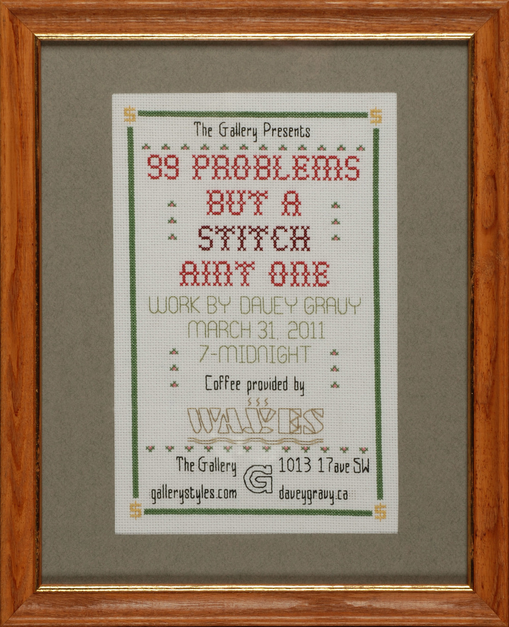 99 Problems Show Poster 2011.jpg