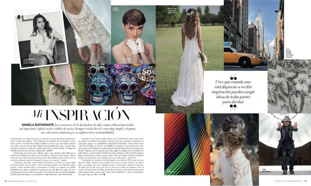 Harper's Bazaar - Agosto de 2018