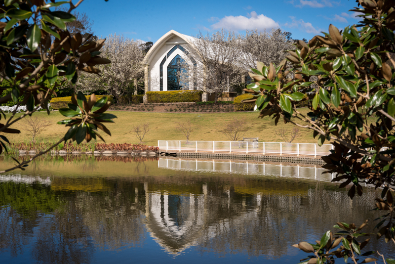 Wedding Chapel - Hunter Valley Gardens