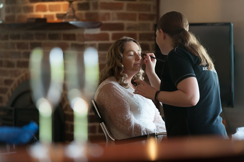 Calvin Estate Wedding - Hunter Valley - Bride Prep