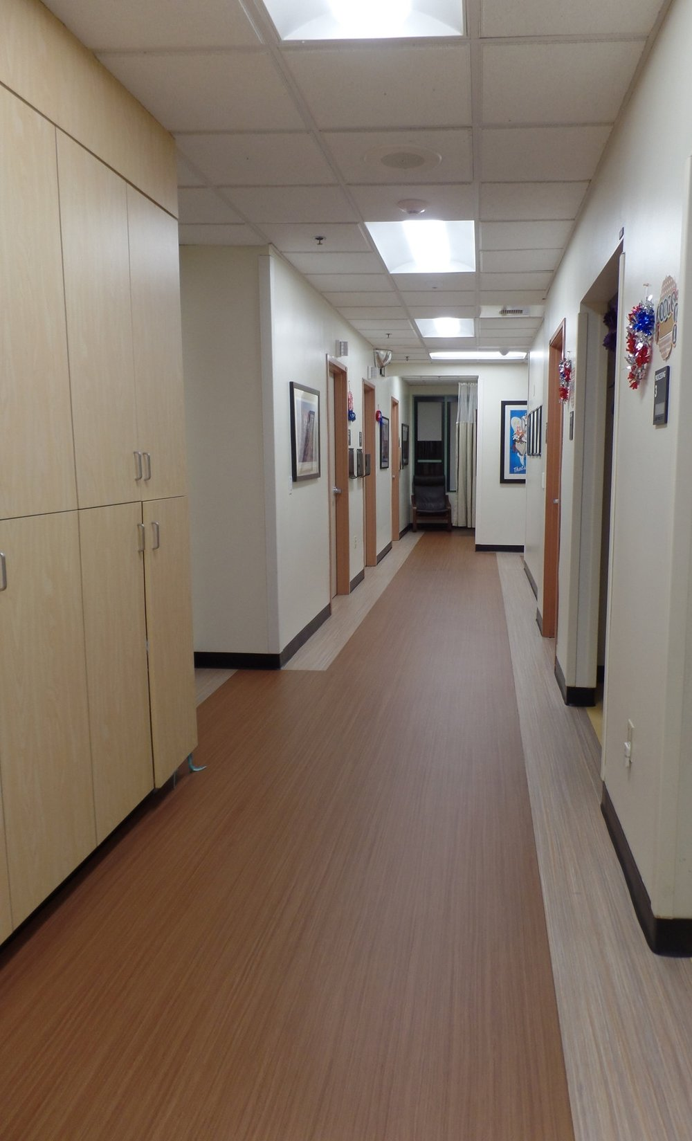 Kaiser Permanente San Dimas Medical Offices - Pediatric Corridor Upgrade