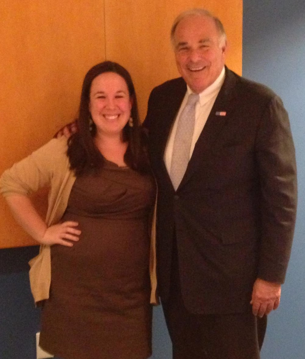 I worked with Building America's Future as a consultant for 4 years (Governor Rendell is a co-chair) .
