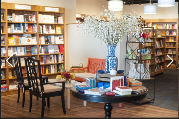 Photo from the Pittsburgh Post Gazette story about Riverstone Books