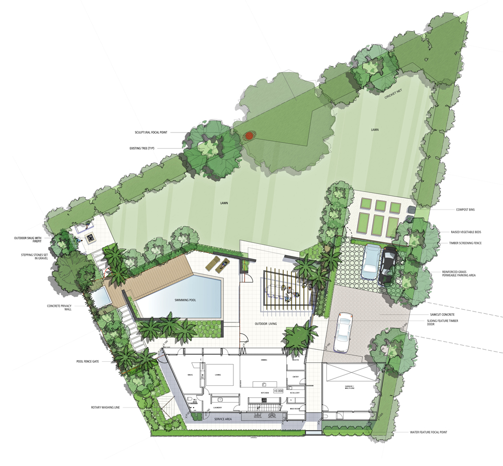 Residential Landscape Design Canopy