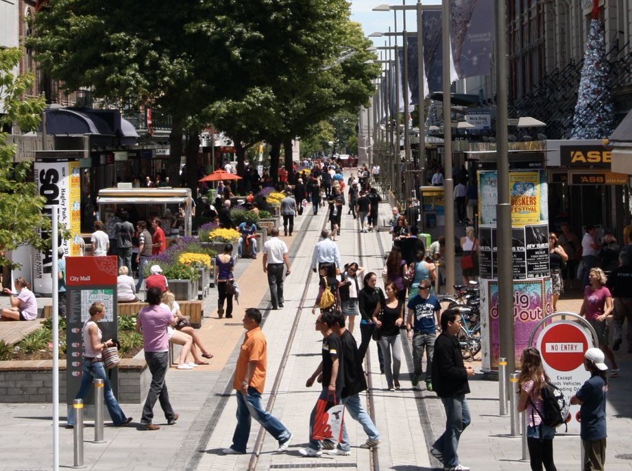 Christchurch City Mall - Cashel St (Completed with Isthmus)