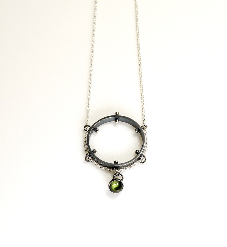 Peridot & Silver Necklace.JPG