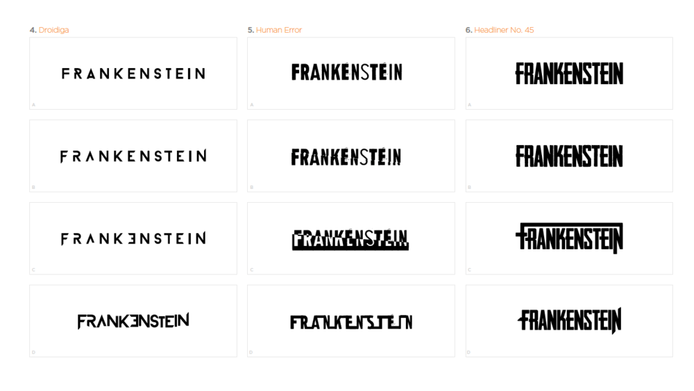LOGOTYPE DESIGN:  PDF EXAMPLE DECK
