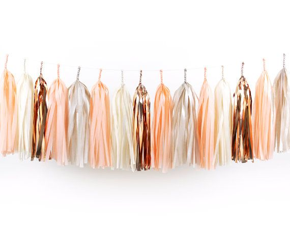 Rose Gold, Blush & Champagne - An ombre of rose gold, blush, champagne and mauve hues for a beautiful fall wedding day.