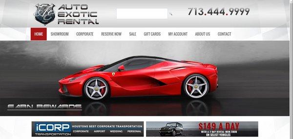 Auto Exotic Rental case study - los angeles seo company