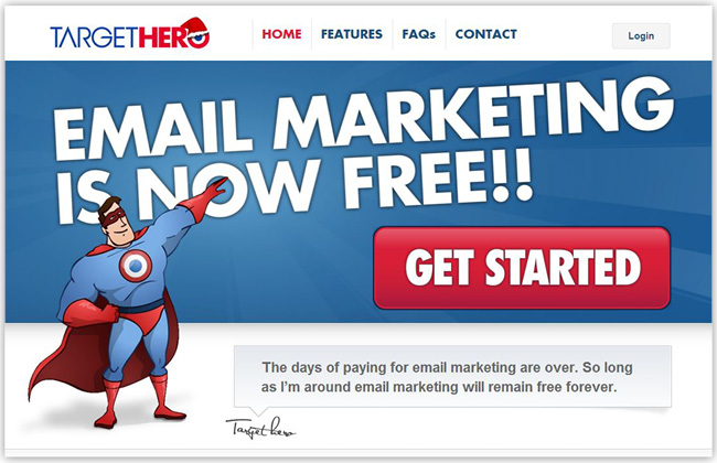 Target Hero - Email Marketing software tool