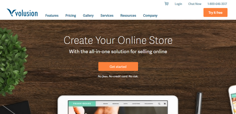 volusion - create your online store