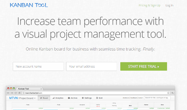 Kanban - Project management board tool