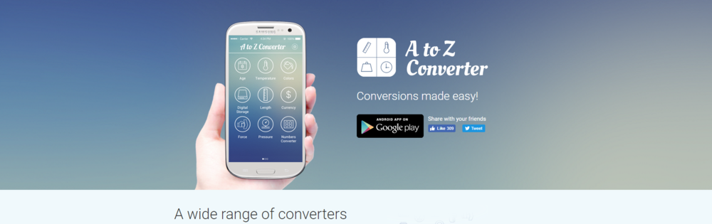 """A to Z Converter"""