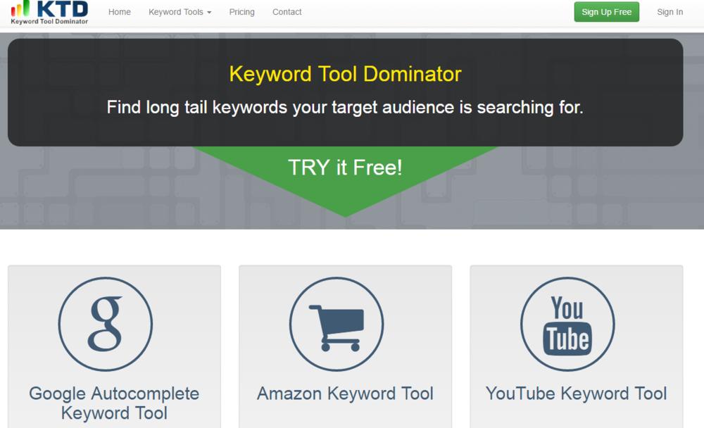 keyword tool dominator