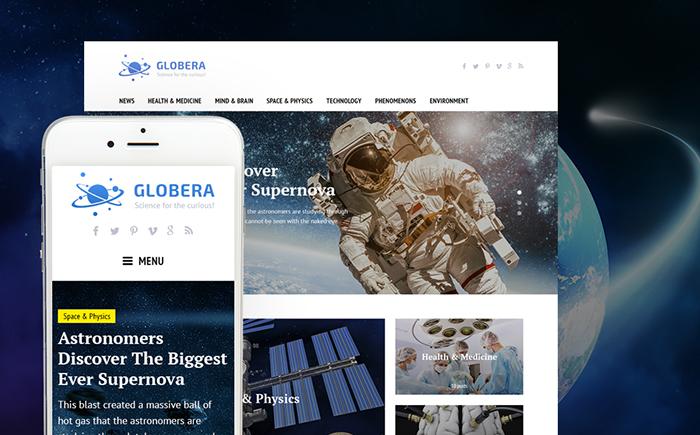 globera - Wordpress Magazine theme