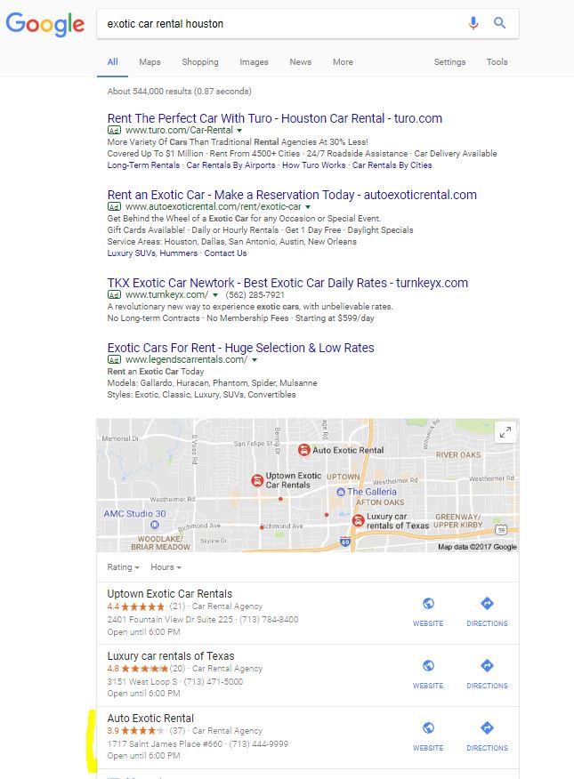 Local SEO | Keyword Rank