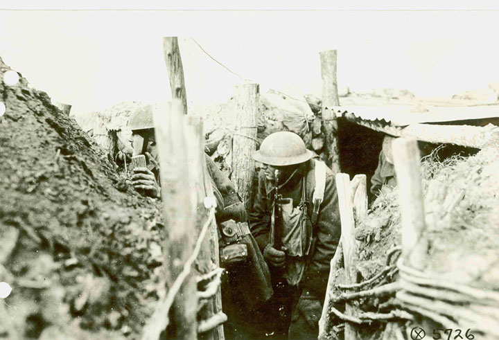 1st ID Soldier Emerges from Dugout