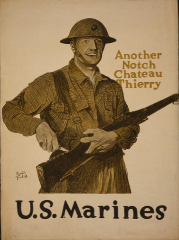 Marine Recruiting Poster