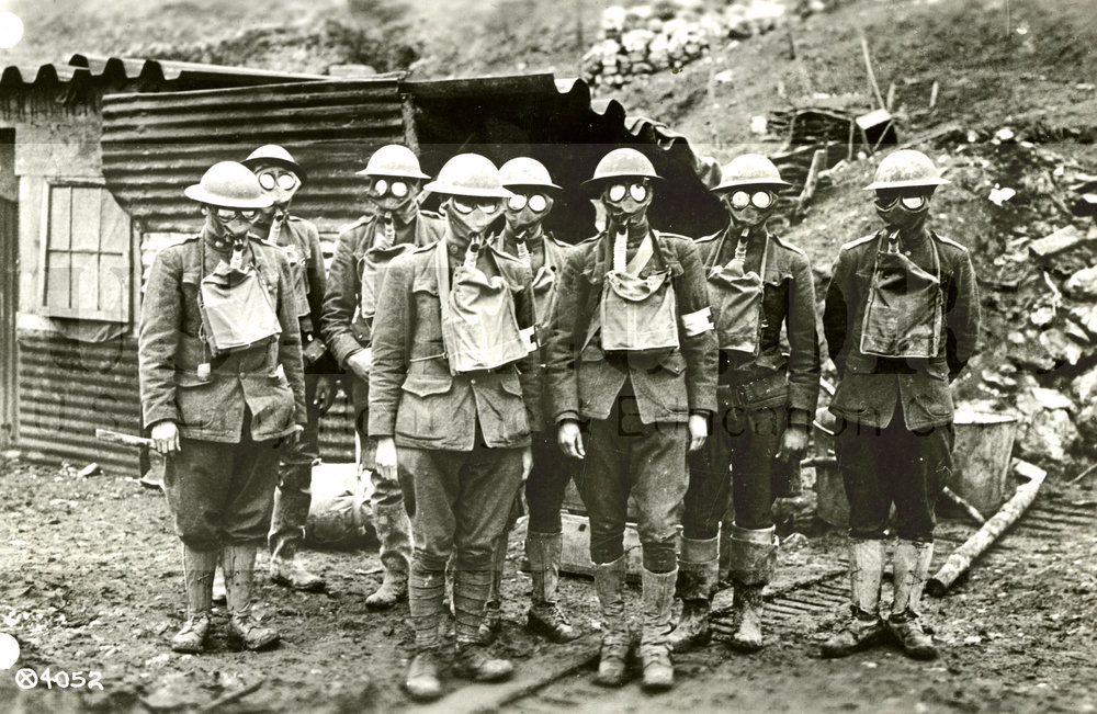 AEF Troops Wearing their SBRs