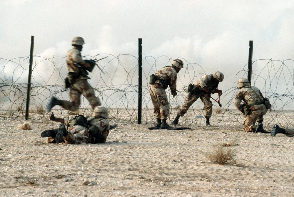 The stench of the 82nd after six months in the desert was its own form of CW.