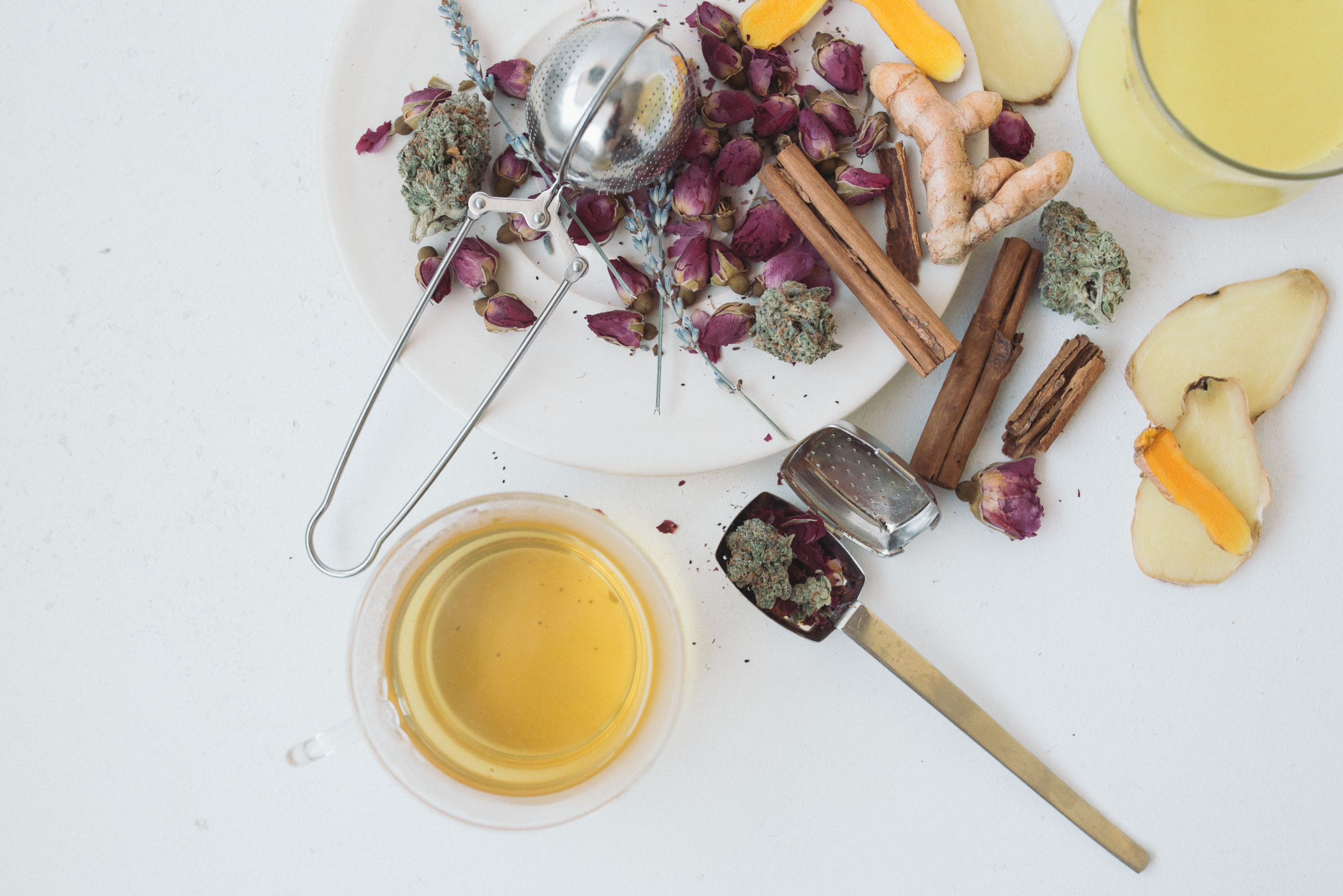 How to Make Cannabis Tea: Sponsored by Leafly — Sous Weed