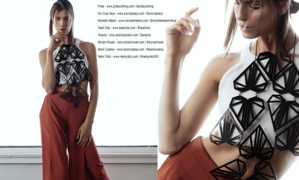 Top: PRIDE, Pants: Six Crisp Days, Necklace: Myriam Rouah