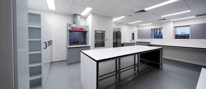 Corian Laboratory Bench