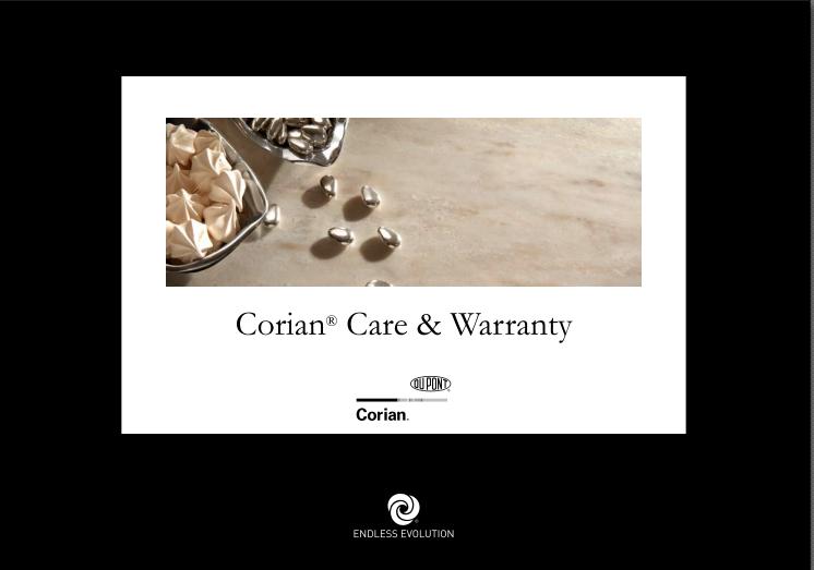 Corian care