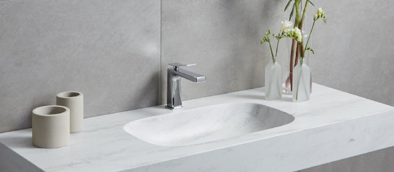 Corian 304 Integrated Basin