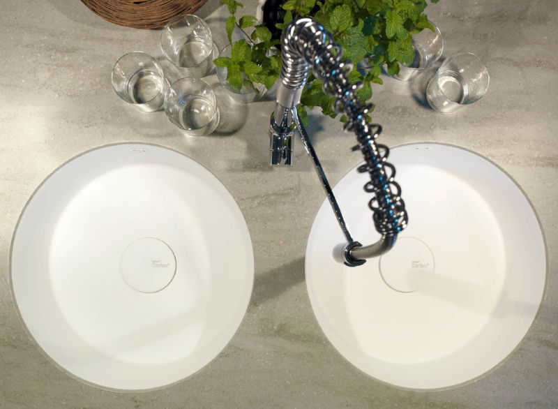 Rounded 9310 Corian Sink