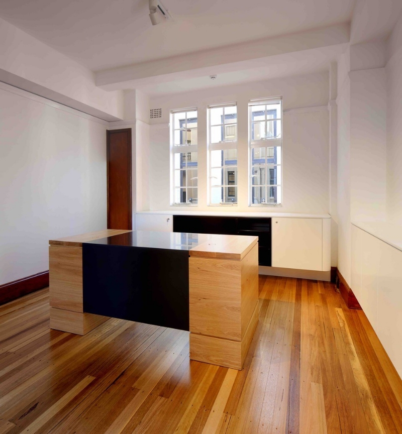 Black Corian Desk Top