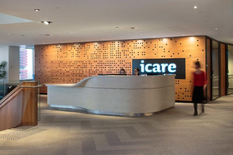 icare reception desk