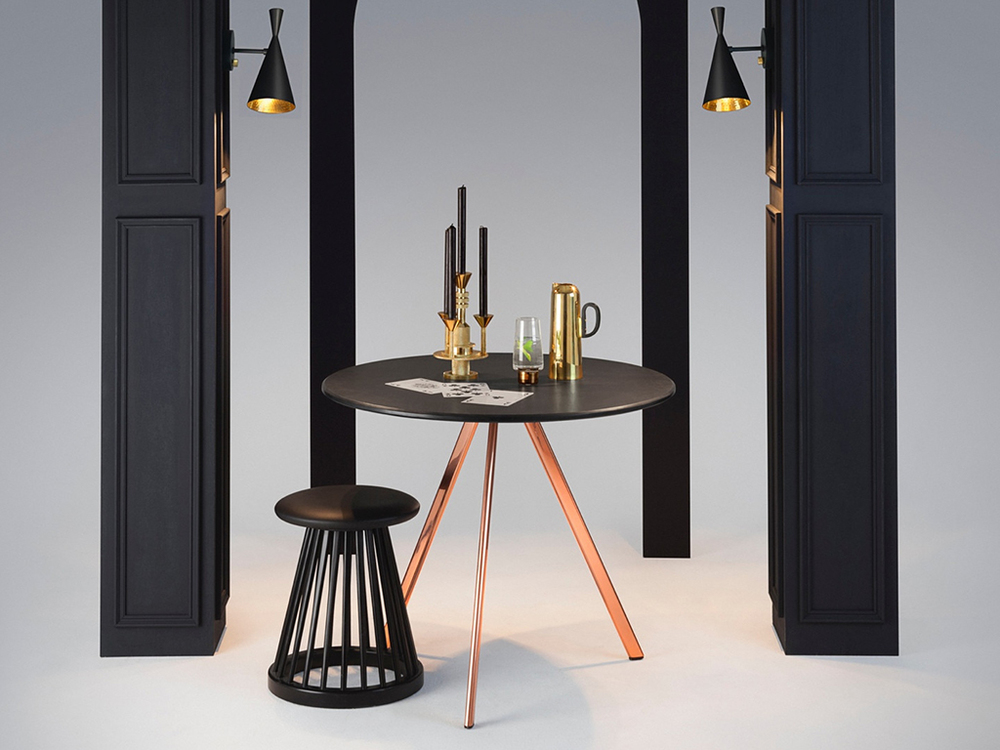 TOM DIXON - BEAT WALL BLACK
