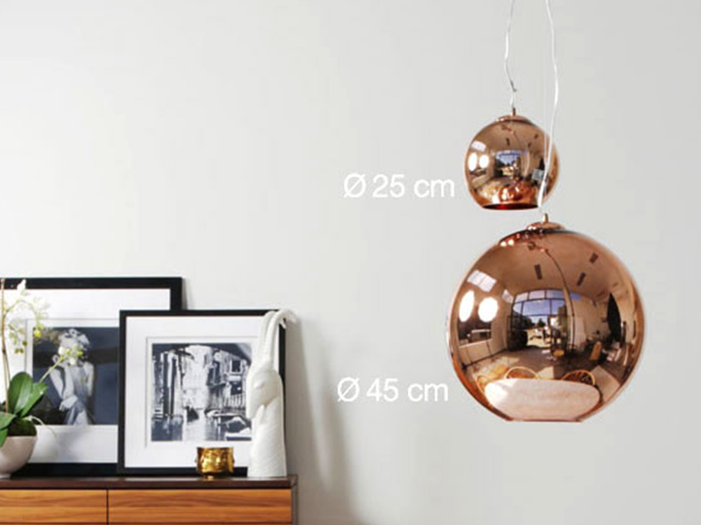 TOM DIXON - COPPER SHADE 25cm