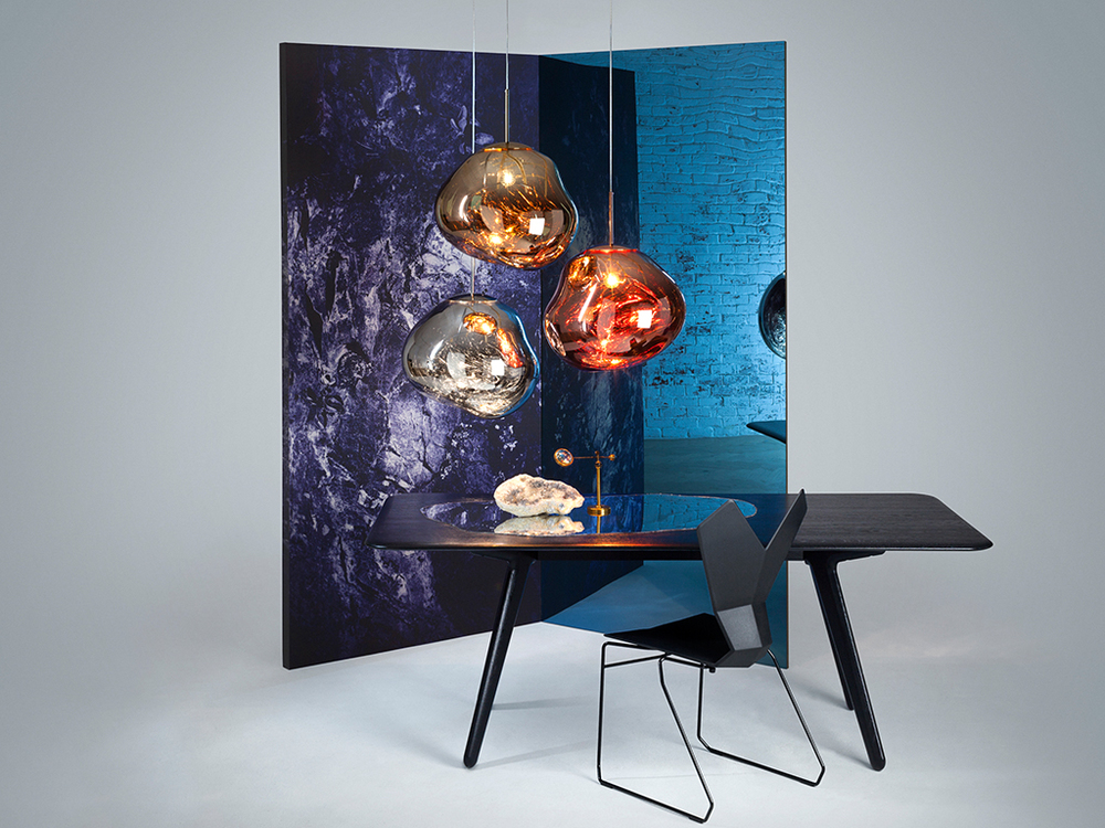 TOM DIXON - MELT - COPPER,CHROME,GOLD