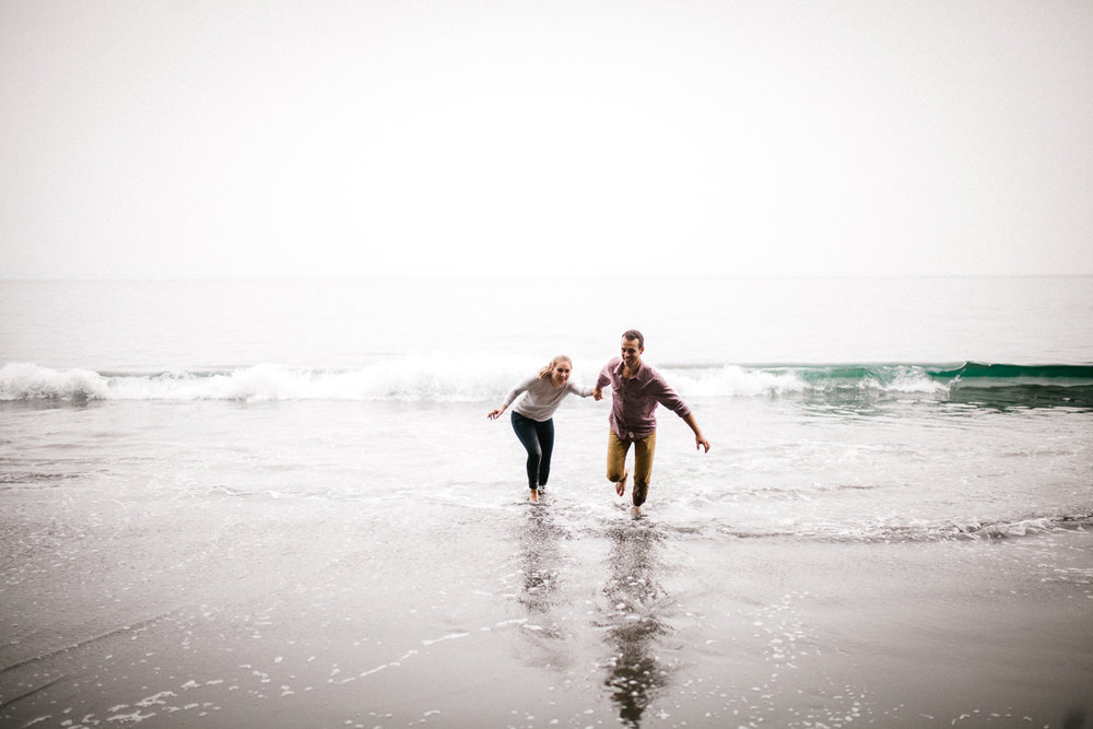 Veronique Gagnon Photography, Mystic Beach Engagement Session, V