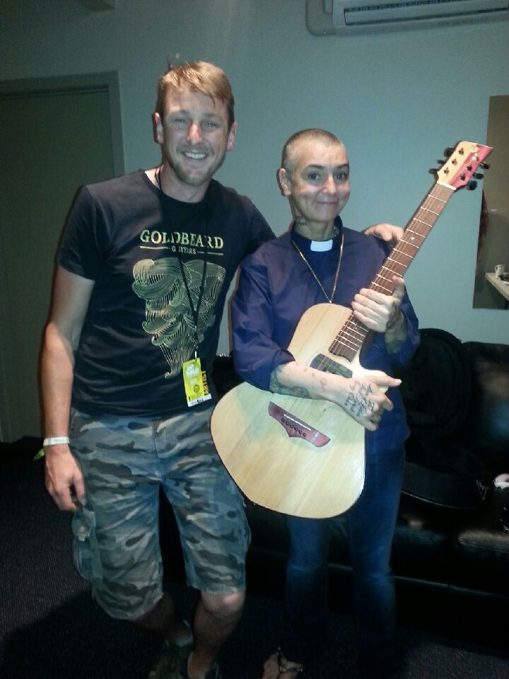 Dave with Sinead O'Connor and her Goldbeard.JPG