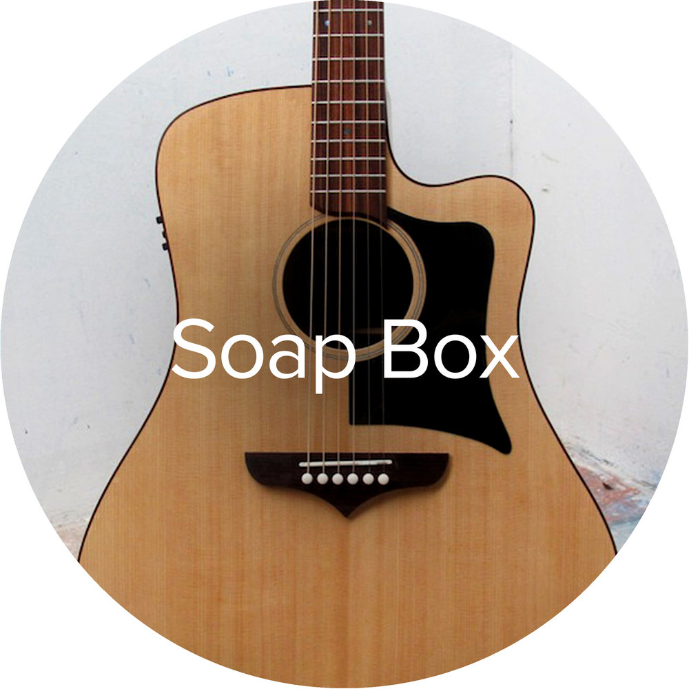 Goldbeard Soap Box acoustic steel string guitar